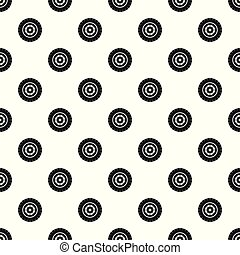 Tyre pattern seamless vector