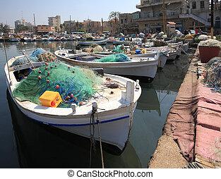 Tyre Port, Lebanon
