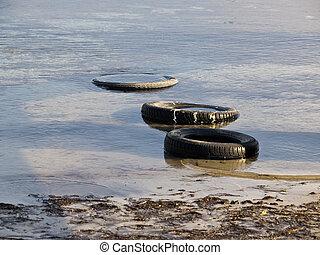 tyres, 水