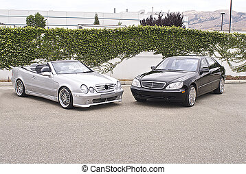 tysk, bilar, lyxvara