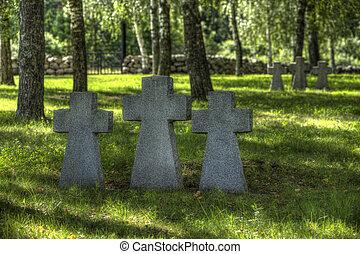 tysk militær, kirkegård