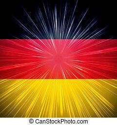 tyska flagga