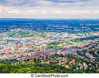 tyskland, hdr, stuttgart