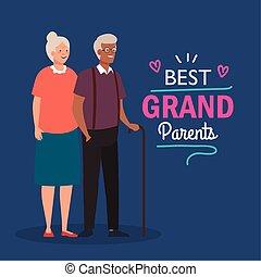 tytuł, sprytny, ozdoba, starszy, rodzice, dzień, najlepszy, ...