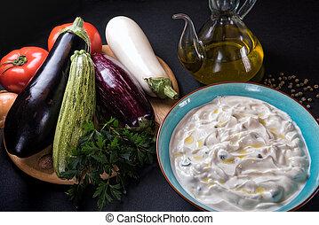 Tzatziki salad