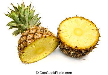 ułamkowy, ananas