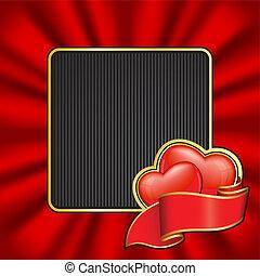 ułożyć, dzień, valentine`s