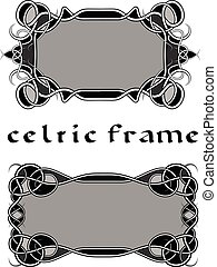 ułożyć, w, celtycki styl