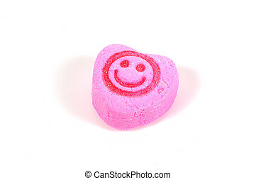 uśmiech, cukierek