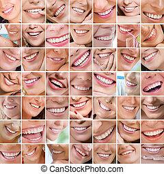 uśmiechanie się