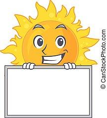 uśmiechnięte słońce, projektować, lato, deska, ma, styl, rysunek
