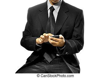 używając, cellphone
