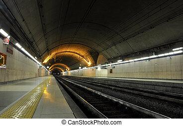 u-bahn, station