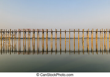 U Bein Bridge in Myanmar