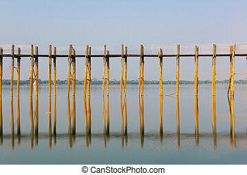 U Bein Bridge in Myanmar
