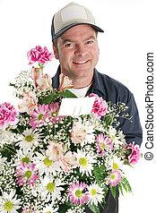u, bloemen