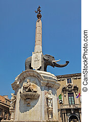 u Liotru, or the Fontana dell'Elefante in the Cathedral...