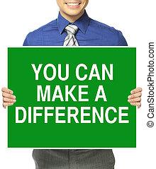 u, maken, verschil, groenteblik