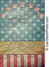 U S A Flag for July 4th, Labor Day