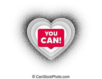 u, vector, groenteblik, motivatie, slogan., motivational, message.