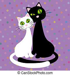 %u0421ouple cats