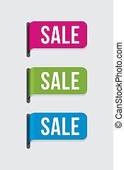 %u2013, moderne, etiket, verkoop