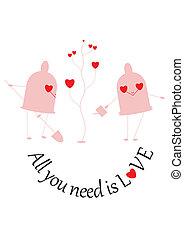 %u201CAll you need is love%u201D