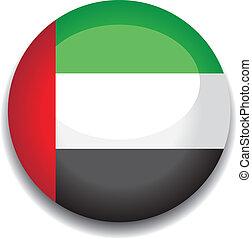 uae button flag