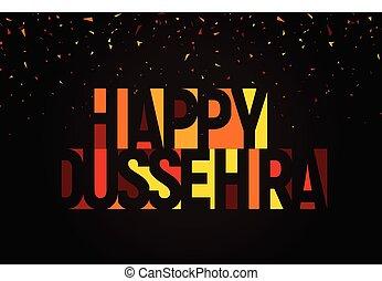 ualmindelige, dussehra, banner., festival, hindu, hils,...
