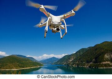 uav, 無人機, ∥で∥, デジタルカメラ