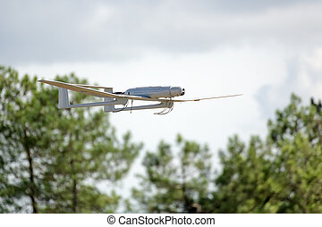 uav drone plane flying