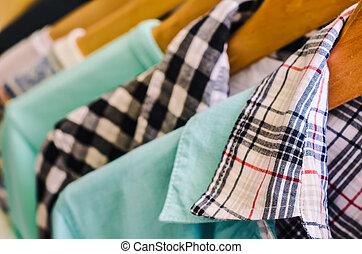 ubranie wieszak