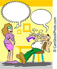 ubriaco, marito