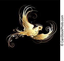 uccello dorato
