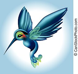 uccello tropicale