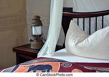 uciekanie się, afrykanin, romantyk, sypialnia