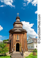 ucraina, baturyn, chiesa, risurrezione, castello, fortezza