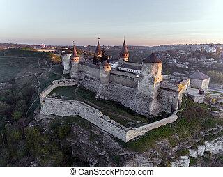 ucraina, castello, kamianets-podilskyi