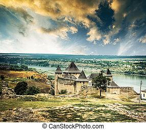 ucraina, khotyn, fortezza