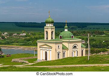 ucraina, nevsky, alessandro, khotyn, chiesa