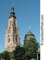 ucrania, catedral, kharkov, blagoveshensky