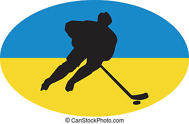 ucrania, colores, hockey