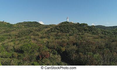 udde, bojeador, lighthouse., filippinerna, luzon.
