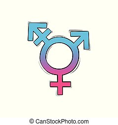uderzenie, samica, znak, samiec