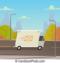 udlevering lastbil, services.