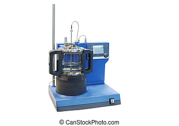 udrustning, i, en, kemisk, laboratorium