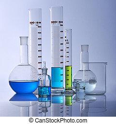 udrustning, laboratorium.