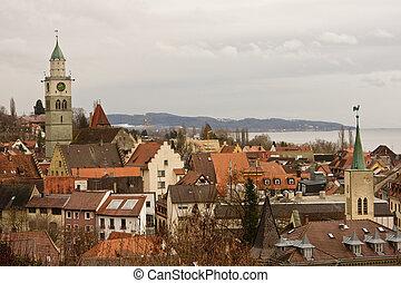 ueberlingen, an, bodensee, deutschland