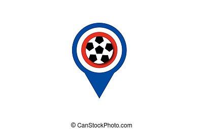 UEFA European Championship soccer ball France