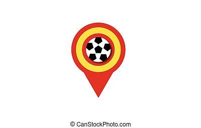 UEFA European Championship soccer ball Spain